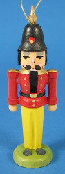 Nutcracker Ornament Red Coat