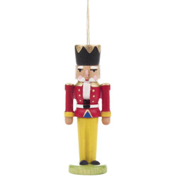 Nutcracker Ornament Red Jacket