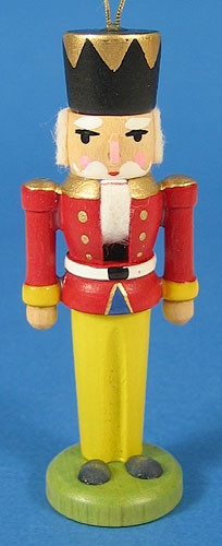 Nutcracker Ornament Red Jacket
