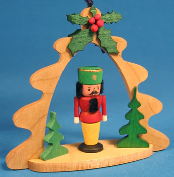 Nutcracker Tree Frame Ornament