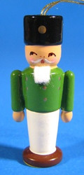 Ornament Green Nutcracker