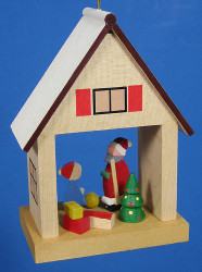 Ornament House Father Christmas