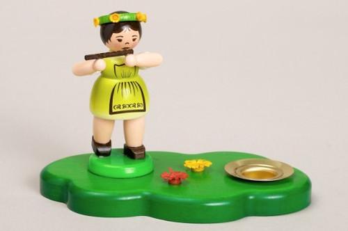 Flute Child Candleholder
