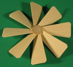 Pyramid Fan Assembly 113mm