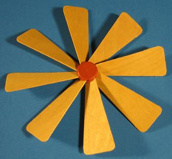 Pyramid Fan Assembly 130mm
