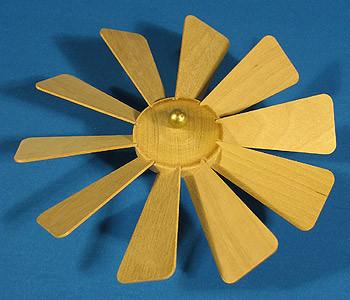 Pyramid Fan Assembly 135mm