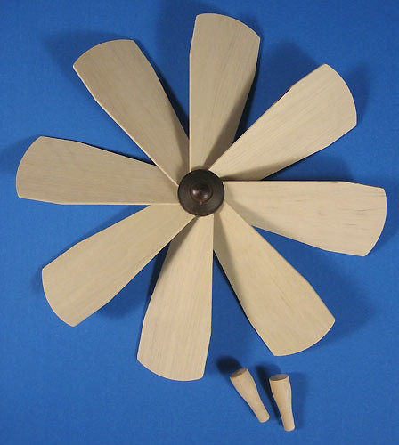 Pyramid Fan Assembly 184mm