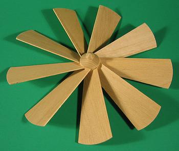 Pyramid Fan Assembly 205mm