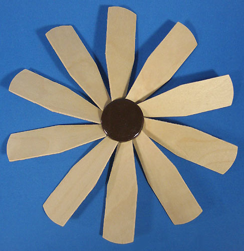 Pyramid Fan Assembly 229mm