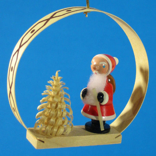 Santa Arch Christmas Ornament