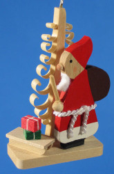 Santa German Christmas Tree Ornament