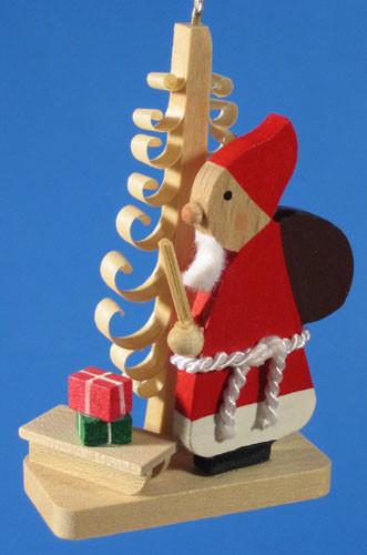Santa German Christmas Tree Ornament