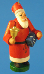 Santa Gift German Christmas Tree Ornament