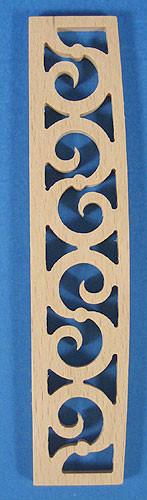 Scrollwork Fence 20x102mm