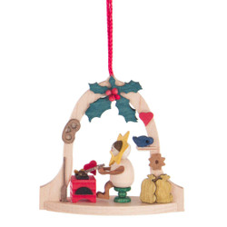 Star Elf Heart Bell Frame Ornament