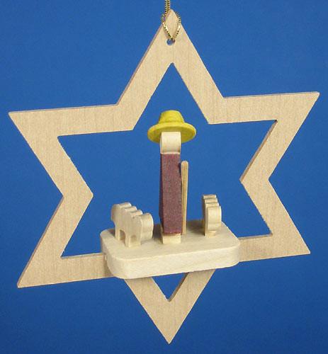 Star Ornament Miniature Shepherd