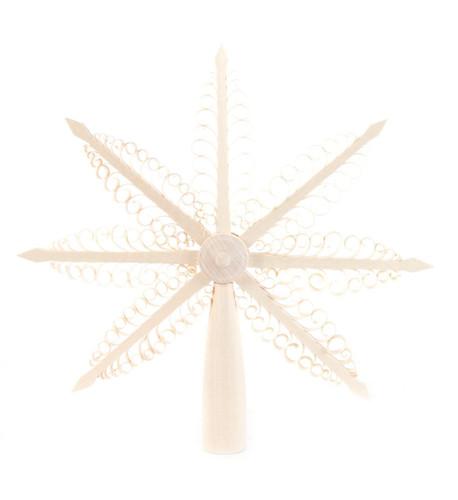 Tree Topper Star German Ornament