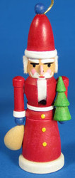 Nutcracker Santa Ornament