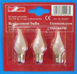 16V3W Flame Light Bulb