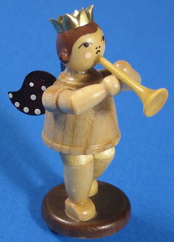 Angel Figurine Horn Advent Pyramid