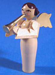 Angel Figurine Natural Carved for Pyramid