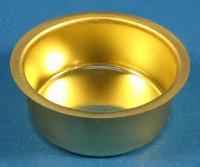 Brass Drip Cup Tealight
