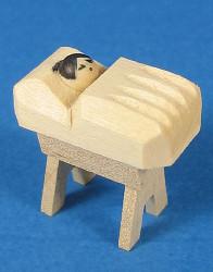 Manger Figurine for Pyramid