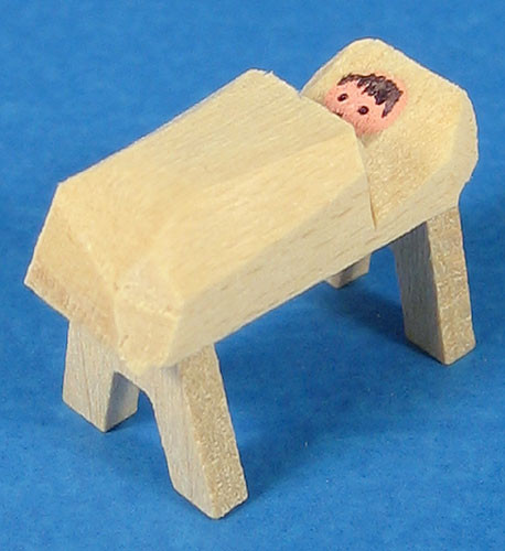 Mini Manger Figurine for Pyramid