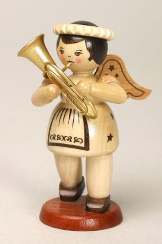 Natural Angel Playing Tuba Post