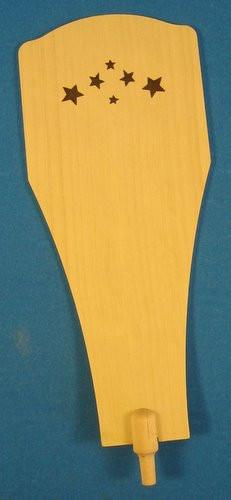 Natural Wood Star Paddle 176 x 62