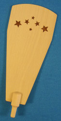 Natural Wood Star Paddle Small 118 x 48