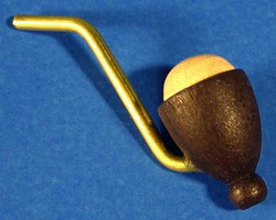 Pipe for Smoker Brown