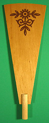 Pyramid Paddle 216mm x 83mm Flower