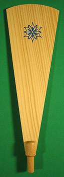 Pyramid Paddle 229mm x 76mm Snowflake