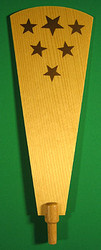 Star Pyramid Paddle 174mm x 73mm