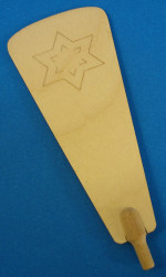 Pyramid Star Paddle 122mm x 49mm