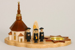 Tealight Church Singers Candleholder