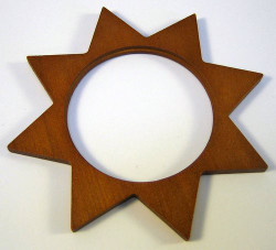 Tealight Holder Star Frame