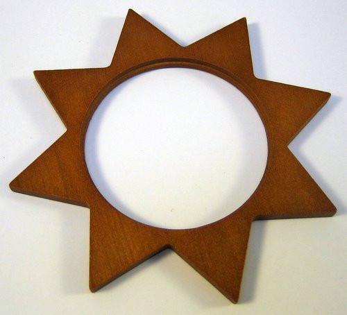 Tealight Holder Star Frame