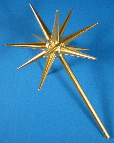 Advent Candleholder Gold Star