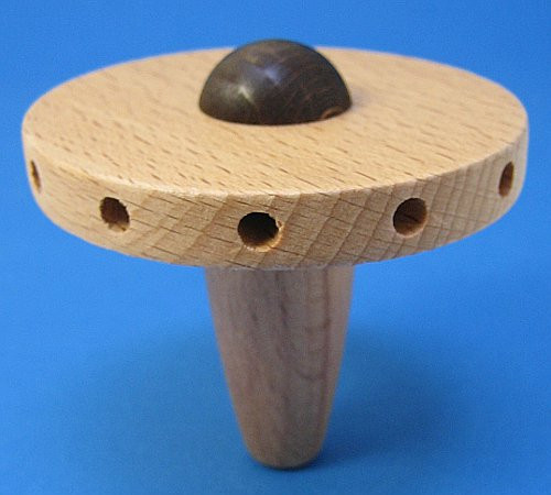 Wooden Hub Natural 12 Holes