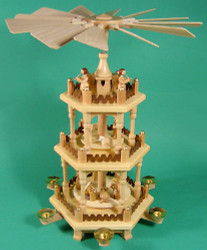 3 Level Nativity German Pyramid