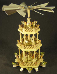 3 Level Trumpeting Angel German Pyramid