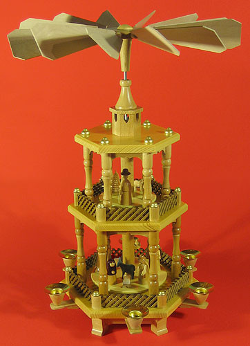 3 Level Watchtower Nativity Pyramid