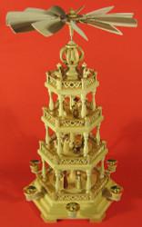 4 Level Christmas German Pyramid