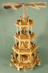 4 Levels Ledges Nativity Pyramid