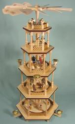 5 Level Christmas Nativity Pyramid