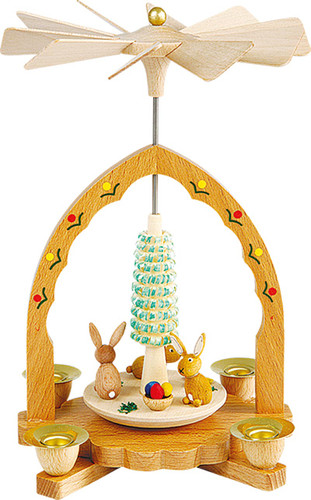 Bunny Spring Easter German Pyramid PYR164X10