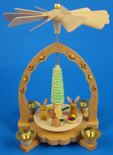 Bunny Spring Easter German Pyramid