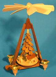 Chip Tree Deer Pyramid